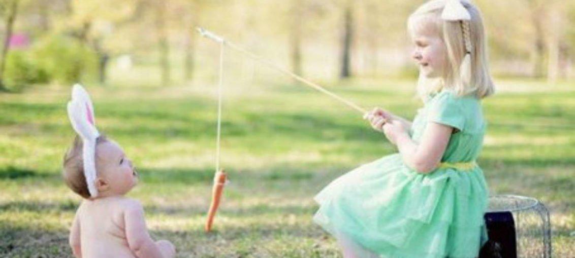 Wielkanocne zdjęcia dzieci - 5 pomysłów