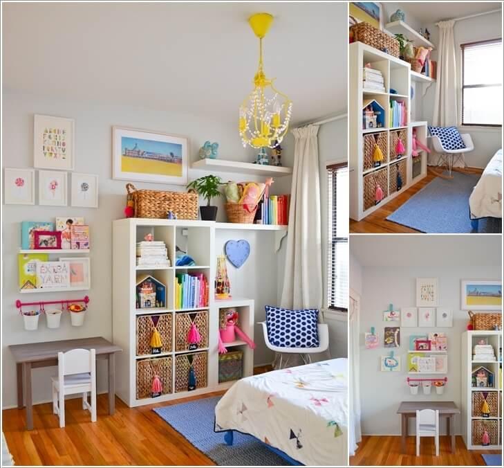 creative ideas for attic space - Mały pokój dziecięcy jak zaaranżować przestrzeń E