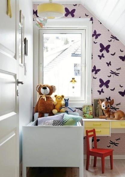 Skandynawski minimalizm pokój dziecka