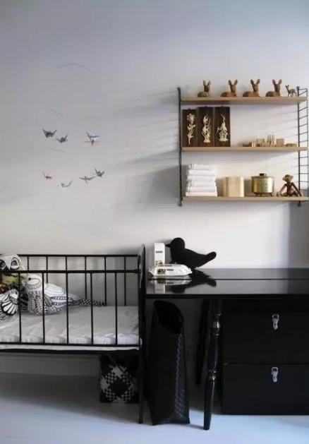 Pokój niemowlaka w skandynawskim stylu