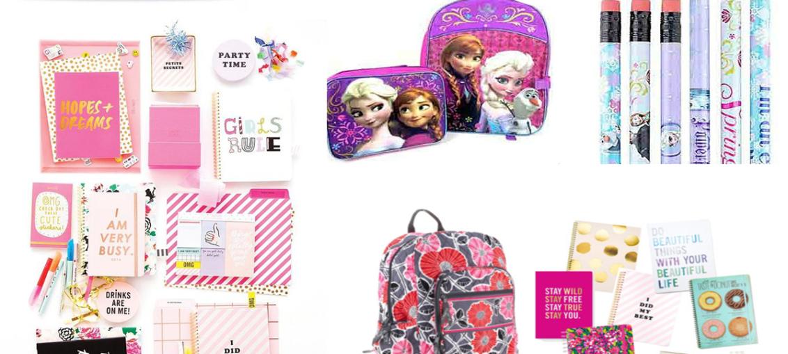 Akcesoria szkolne dla dziewczynek