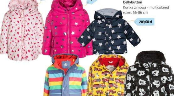 Kurtka jesienno-zimowa dla dziecka