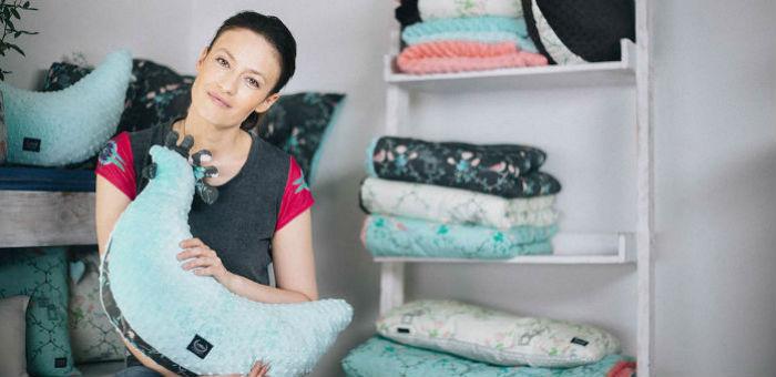 Magdalena Różczka wspiera Interwencyjny Ośrodek Preadopcyjny w Otwocku