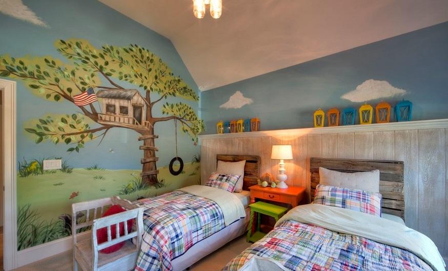 10 pomysłów, jak ciekawie urządzić pokój dziecka?