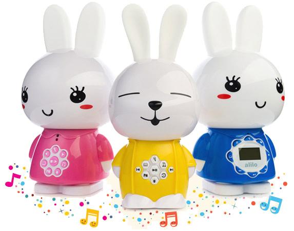 Witajcie w rodzinie magicznych króliczków Alilo Bright Ears!