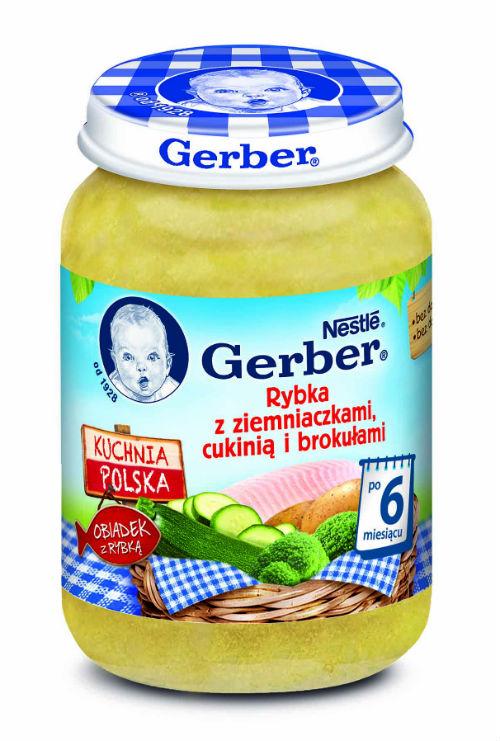 Nowe dania z rybką marki GERBER