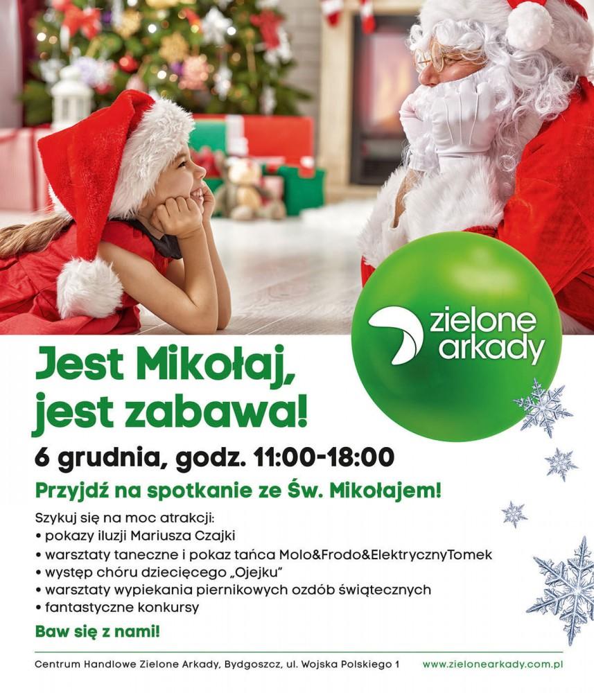 Świąteczne atrakcje dla dzieci w Zielonych Arkadach w Bydgoszczy