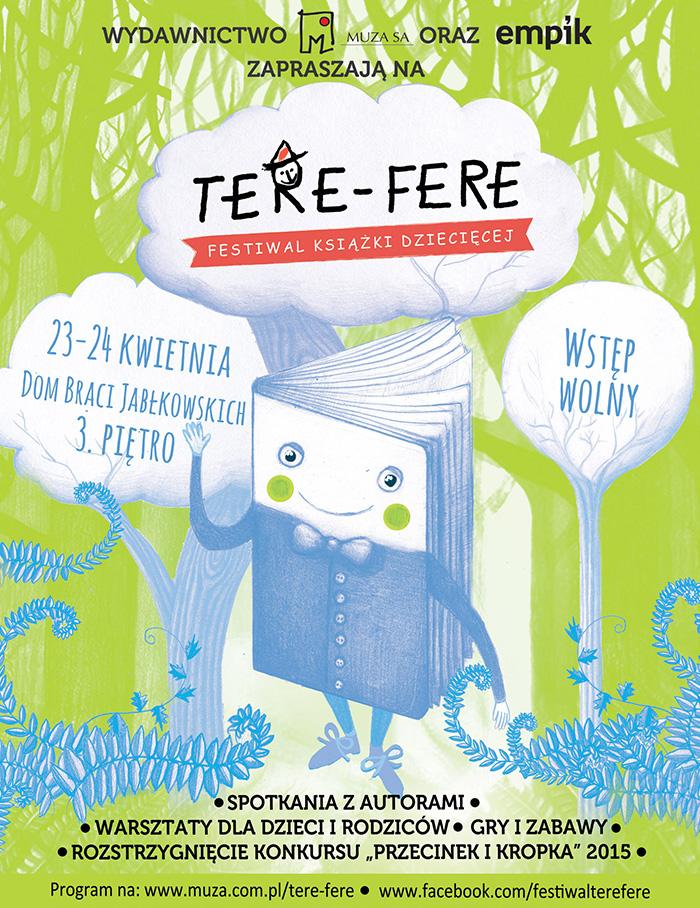 Czwarta edycja festiwalu książki dla dzieci Tere-Fere już w kwietniu