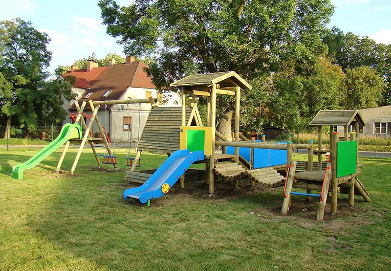 Place zabaw do ogrodu