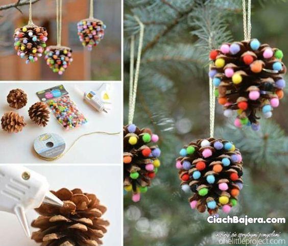 Wyjątkowy 5 pomysłów na ozdoby świąteczne ręcznie robione - E-szkrab.pl LB-08