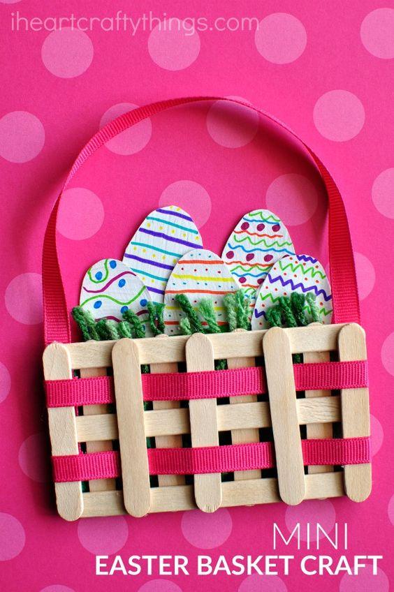 Koszyk wielkanocne dekoracja dla dziecka