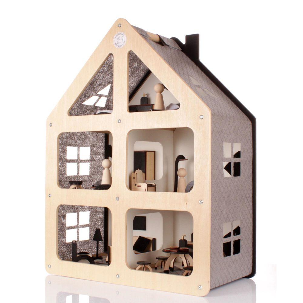 Drewniane modułowe domki od Oloka-Gruppe