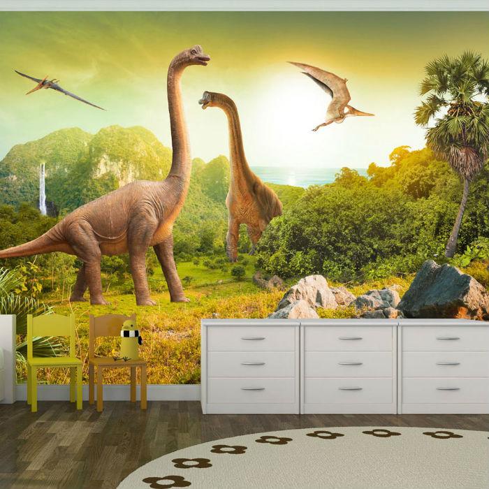 fototapeta z dinozaurem