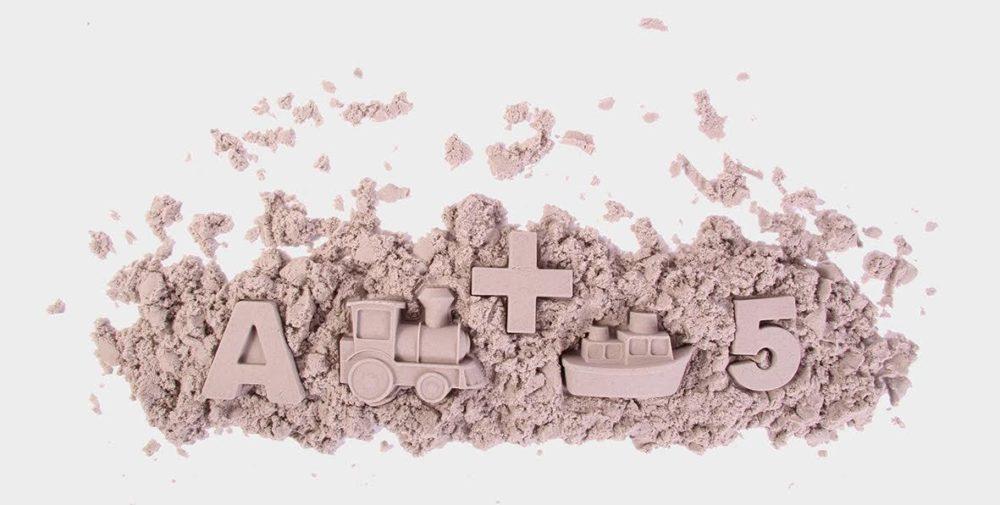 Kreatywna zabawa z dzieckiem piasek kinetyczny