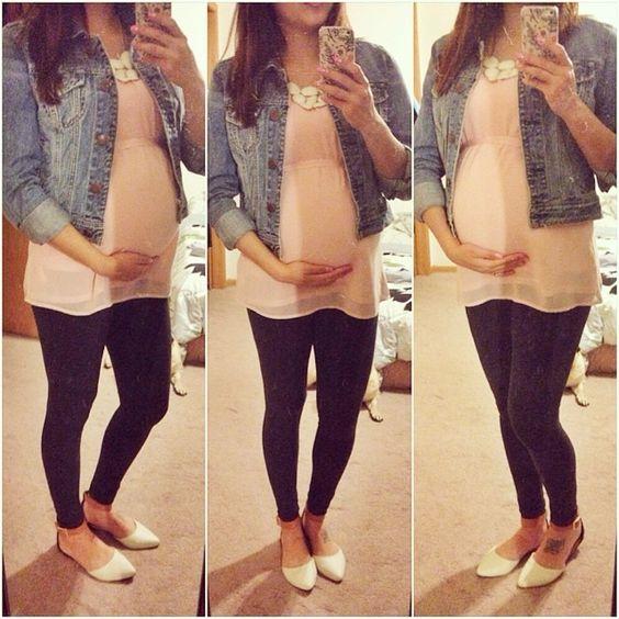 selfi ciążowe