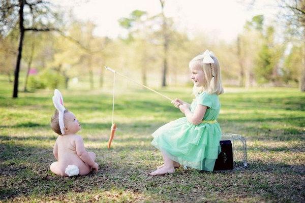 Fotografie wielkanocne dzieci