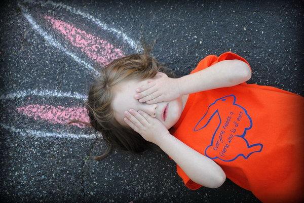 Zdjęcie dziecka wielkanoc