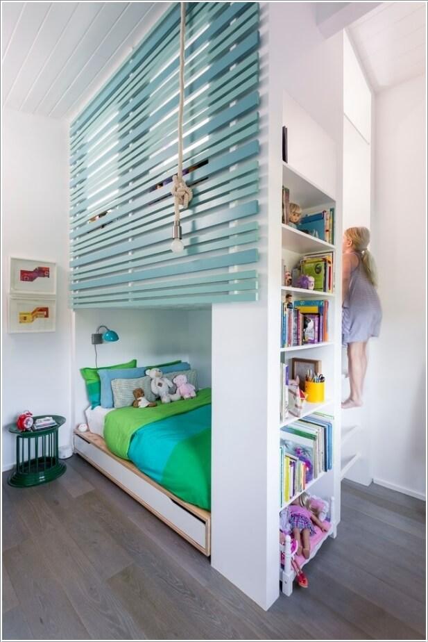 Przestrzeń w małym pokoju dziecka