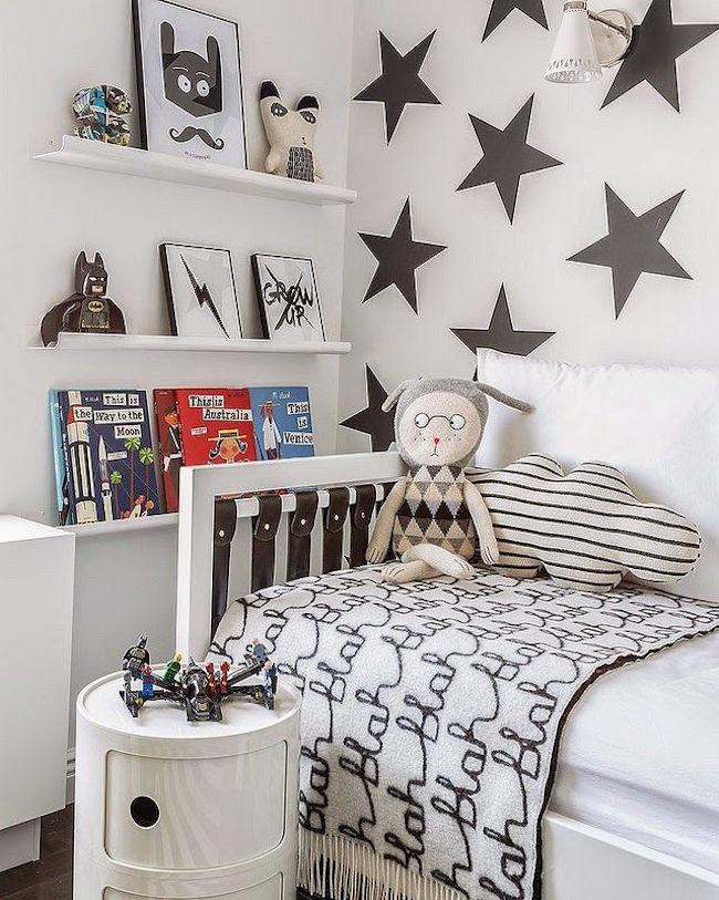 Skandynawski styl w pokoju dziecka