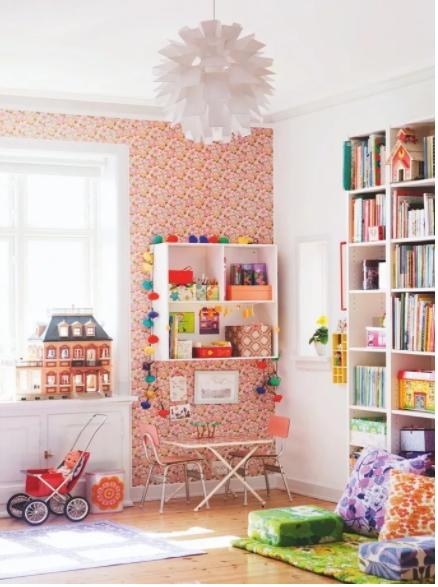 Skandynawia w pokoju dziecka