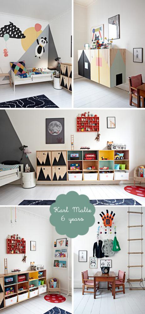 Dziecięcy pokój w stylu skandynawskim