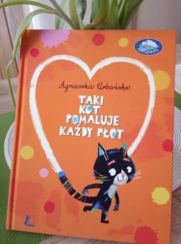 Książka taki kot pomaluje każdy płot
