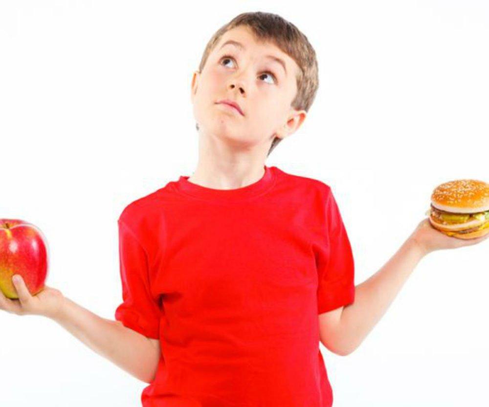 Błędy w diecie dzieci