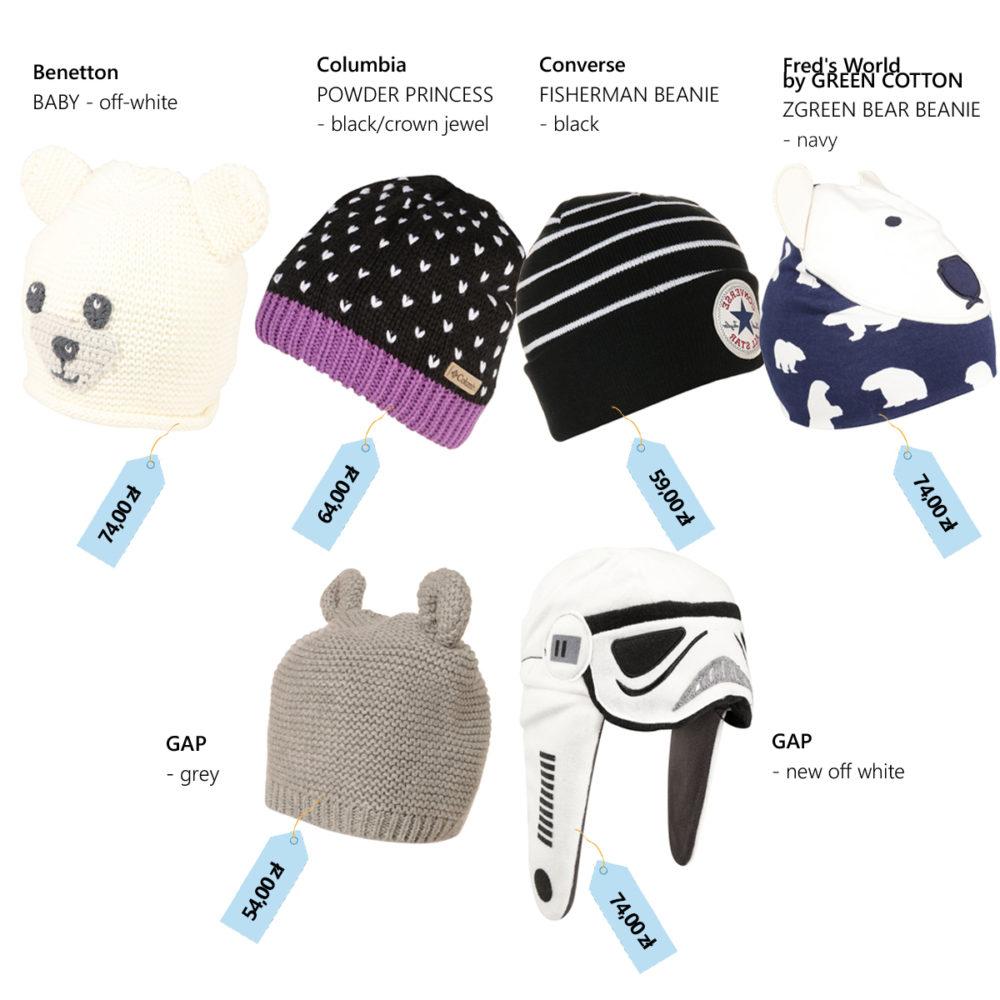 czapki dla dziecka jesień zima