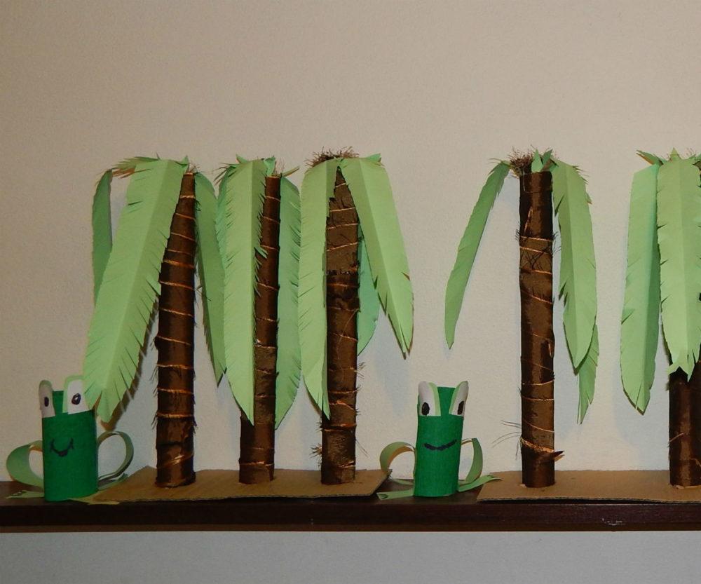 Palmy i żaby