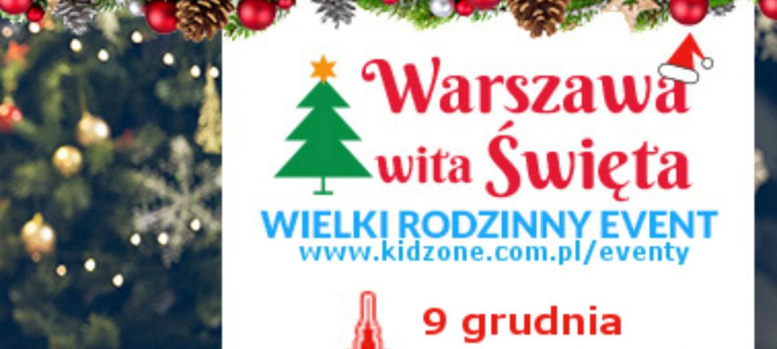 Warszawa wita święta