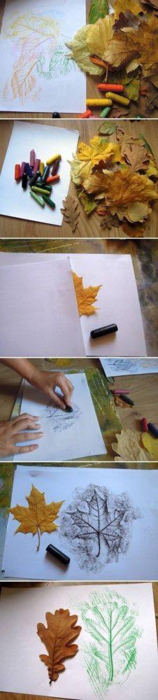 Liściowe rysunki