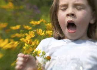 alergia na pyłki objawy u dzieci