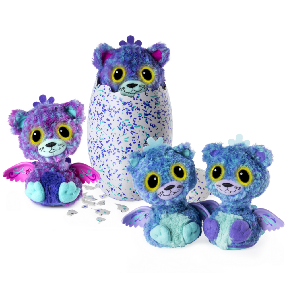 hatchimals suprise bliznieta kotki