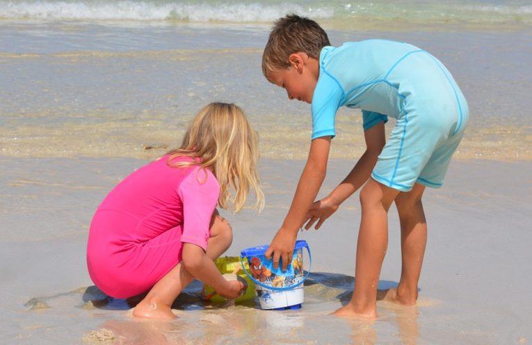 okulary dla plaże dla dziecka